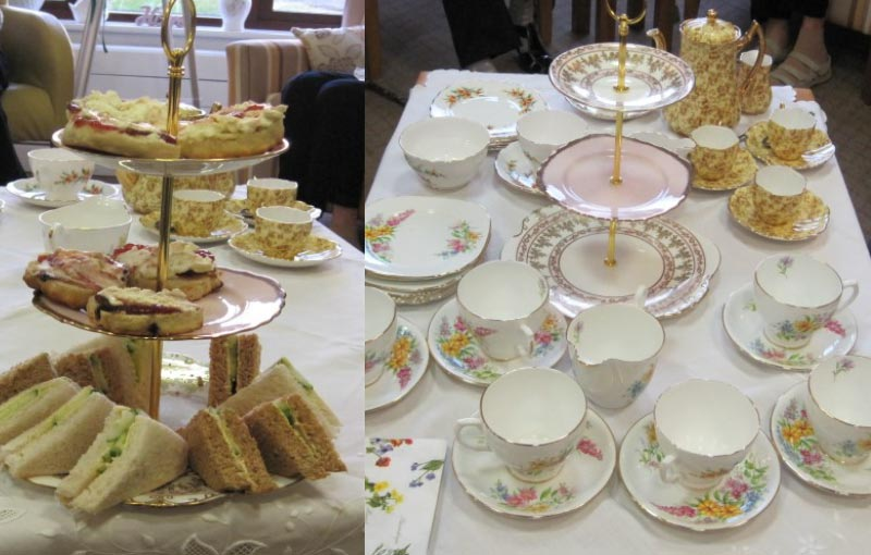 baytree court care centre afternoon tea