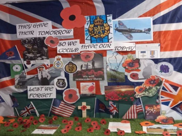 rememberance day at Bay Tree Court