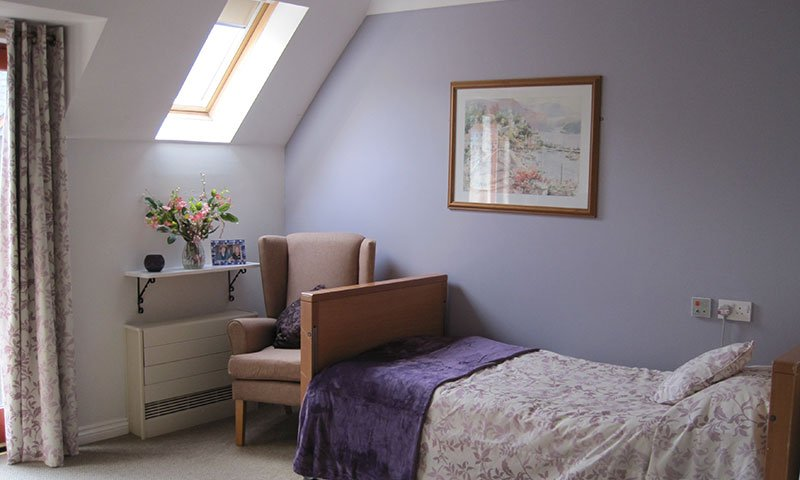 bay tree court care home bedroom
