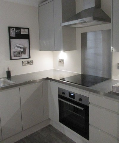 bungalow kitchen at Bay Tree Court Care Centre Independent Living