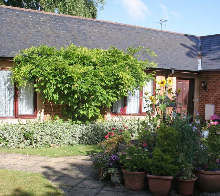 independent living bungalows at Bay Tree Court Centre