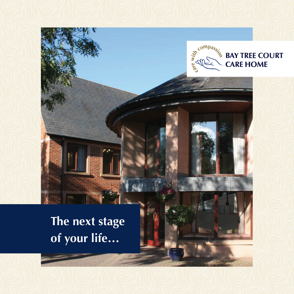 Bay Tree Court Care Home brochure cover