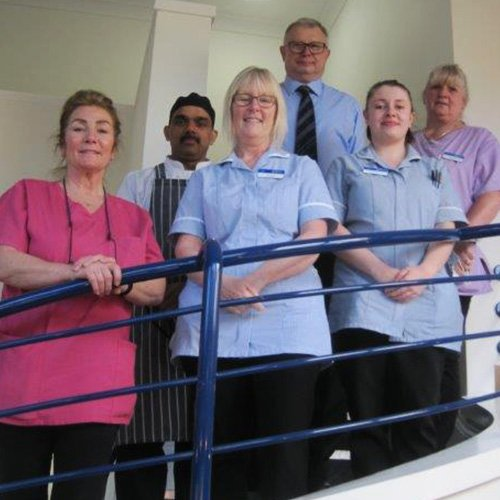 team at Bay Tree Court Care Home