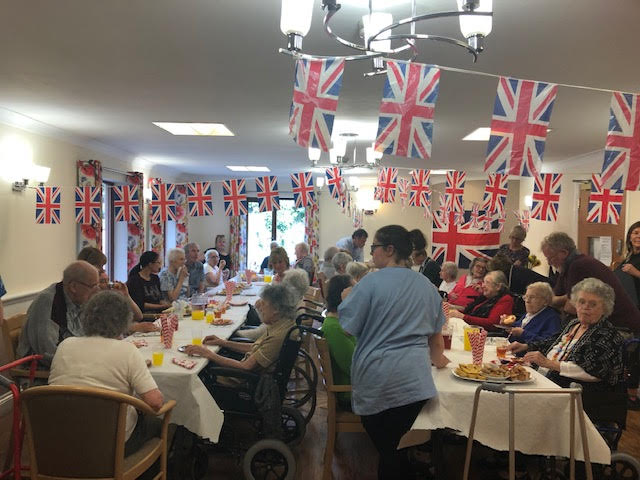 summer fete street party at bay tree court care centre
