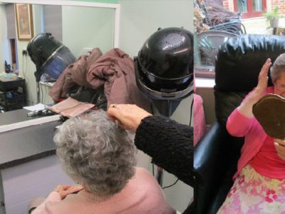 hair dressing services at Bay Tree Court Care Home