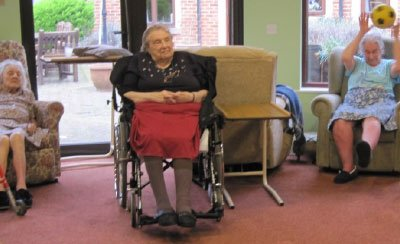 exercise at Bay Tree Court Care Home