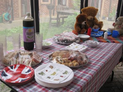 celebrating picnic week at Bay Tree Court Care Home