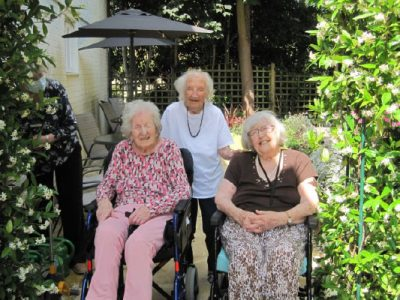 summer 2021 at bay tree court care home